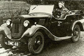 1935 Morris Eight Tourer