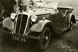 1935 Morris/Jensen Eight Sports Tourer