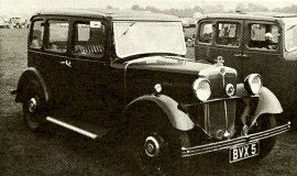 1935 Morris Ten-Four Saloon