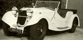 1935 Riley 1½- Litre 12 HP Series Falcon, Kestrel and Lynx
