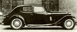 1935 Riley Kestrel Saloon
