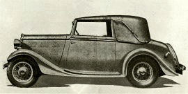 1935 Singer Eleven Drop-head Coupe