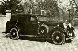1935 Sunbeam Twenty-Five (23·8 HP) Limousine