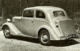 1935 Vauxhall Light Six DY and DX
