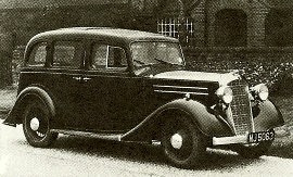 1935 Vauxhall Light Six D-Series