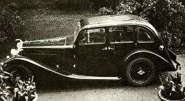 1936 AC Ace 16/60 Family Saloon