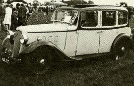 1936 Austin Twelve-Four Ascot De Luxe Saloon