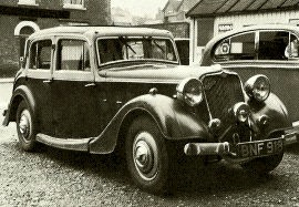 1936 Crossley Regis 1½-Litre Saloon