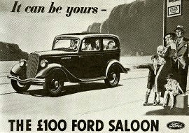 "1936 Ford Popular Saloon Model Y - the ""£100 Ford"""