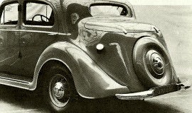 1936 Humber Snipe Six-light Saloon