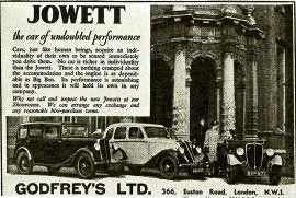 1936 Jowett 6G Series and J Series