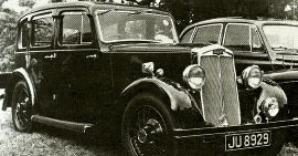 1936 Lanchester 10 Saloon