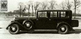 1936 Lanchester Straight Eight