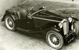 1936 MG T-Series Midget TA
