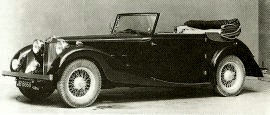 1936 MG SA-Series Two-Litre Saloon, Tourer and Convertible