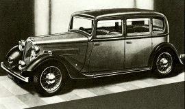 1936 Rover Ten, Twelve, Fourteen and Speed Fourteen