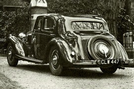 1936 Talbot 3½-Litre Speed Sports Saloon
