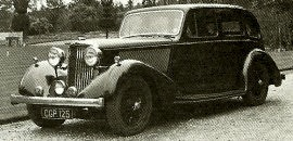 1936 Talbot Ten Sports Saloon