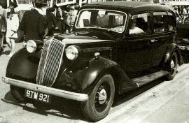 1936 Vauxhall 25 HP G-Series