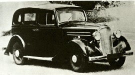 1936 Vauxhall Light Six O-Series