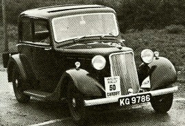 1937 Armstrong Siddeley 14 HP Saloon