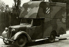 1937 Austin Ten Mobile Canteen