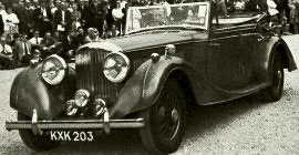 1937 Bentley 4¼-Litre Allweather Convertible Saloon