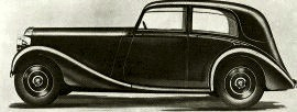 1937 Daimler Light Straight Eight
