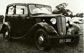 1937 Morris Eight Series II Saloon