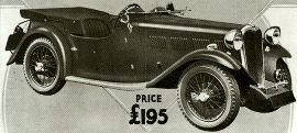 1937 Singer Nine Four-seater Sports Model