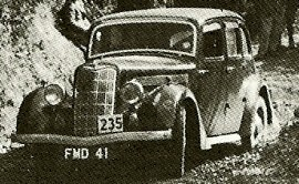 1937 Singer Twelve Saloon