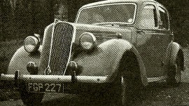 1937 Standard Flying V8 Saloon
