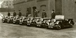 1937 Talbot Ten Sports Tourer Police Patrol Cars
