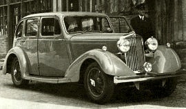 1937 Talbot 75 Six-light Saloon