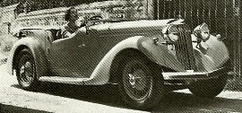 1937 Talbot Ten Sports Tourer