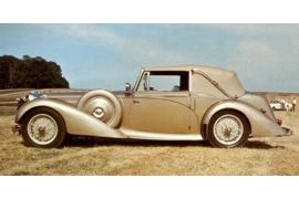 1940 Alvis Speed 20 Drophead Coupe