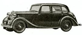 1940 Lea-Francis Four-light Saloon and Six-light Saloon