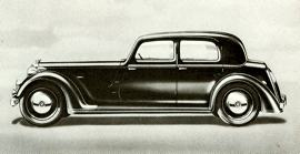 1940 Rover Fourteen Sports Saloon