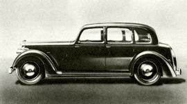 1940 Rover Twelve Saloon