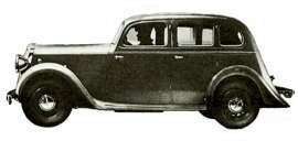 1940 Singer Super Ten Saloon