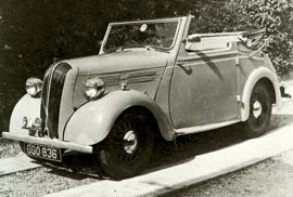 1940 Standard Flying Eight / Flying Standard Eight Drophead Coupe