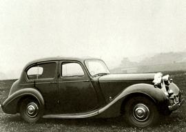 1940 Sunbeam-Talbot Ten Saloon 2 Liter
