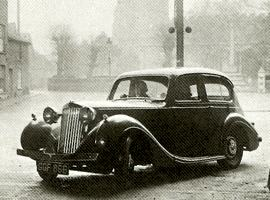 1940 Sunbeam-Talbot Ten Saloon