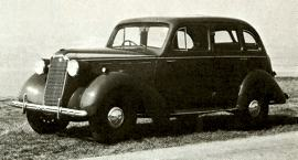 1940 Vauxhall Fourteen Series J
