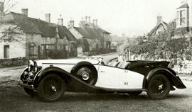 1940 Alvis 4·3 liter Tourer, Silver Crest and Speed