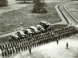 1941 Auxiliary Territorial Service Vehicles