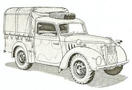 1941 Austin Ten Light Utility Model G/YG
