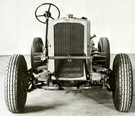 1941 Humber Four Wheel Drive chassis