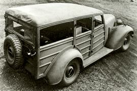 1941 Humber Super Snipe Heavy Utility
