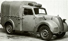 1941 Morris 8 HP Light Utility